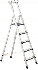 Zarges Z600 geschraubte 4 Stufen-Stehleiter (41422)