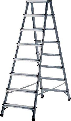 Brennenstuhl Doppelstufenleiter Aluminium 2x6 (1412070)