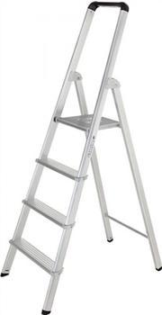 Günzburger Steigtechnik Stufenstehleiter ML 5 Stufen (11225)