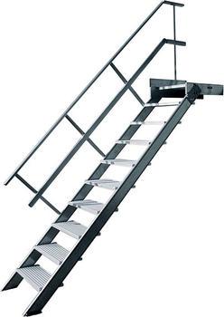 Hymer Treppe mit Podest 2221/0811
