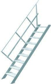 Hymer Treppe ohne Podest 2211/1011