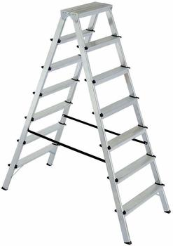 BRB-Lagertechnik BRB Doppelleiter, 2x7 Stufen