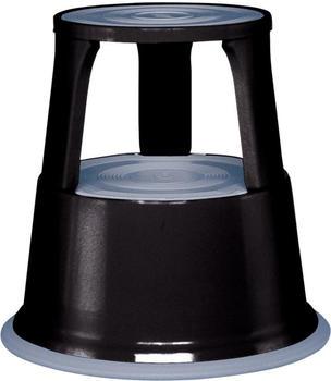 Wedo Rollhocker Metall schwarz