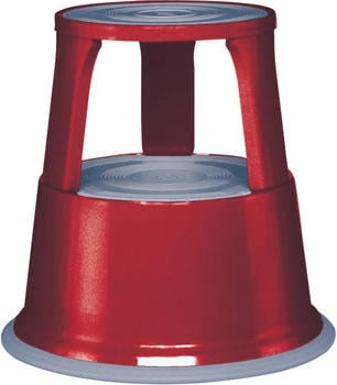 Wedo Rollhocker aus Metall rot