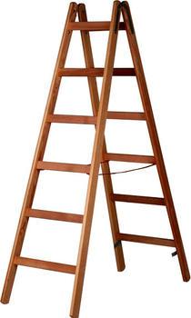Hymer Holz-Sprossenstehleiter 7-1410/2x7