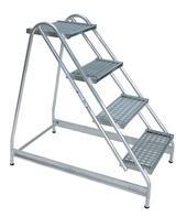 Günzburger Aluminium Arbeitspodest 4 Stufen (50055)