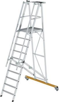 guenzburger-aluminium-podestleiter-fahrbar-klappbar-10-stufen