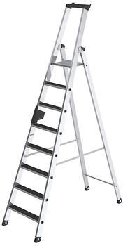 guenzburger-aluminium-stehleiter-clip-step-einseitig-begehbar-8-stufen
