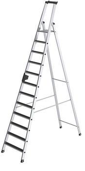 Günzburger Steigtechnik Alu-Stehleiter 12 Stufen (41512)