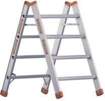 Layher Topic 1047 Arbeitsbock U-Profil 4 Stufen