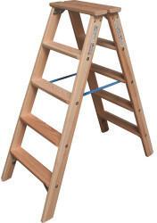 KRAUSE Krause STABILO Stufen-Doppelleiter 2x5 Sprossen