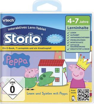 Vtech Storio 2 - Lernspiel Peppa Pig