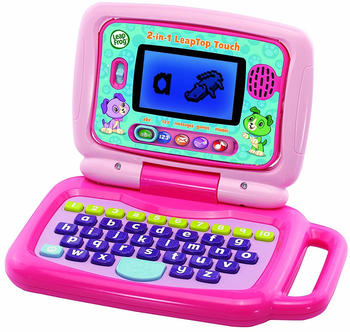 LeapFrog 2-in-1 Touch LeapTop Pink