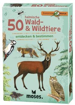 Expedition Natur - 50 heimische Wald und Wildtiere