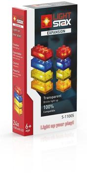 Light Stax Expansion Pack Transparent - red, yellow, blue & orange