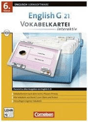 Cornelsen English G 21 Vokabelkartei interaktiv 6. Klasse (DE) (Win)