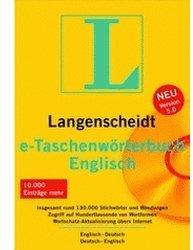 Langenscheidt e-Taschenwörterbuch Englisch 5.0 (DE) (Win)