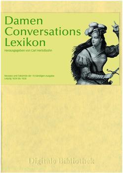 Directmedia Digitale Bibliothek 118: Damen Conversations Lexikon (DE) (Win)