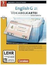 Cornelsen English G 21 Vokabelkartei interaktiv 7. Klasse (DE) (Win)