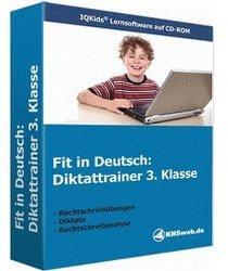 KHSweb.de Fit in Deutsch - Diktattrainer 3. Klasse (DE) (Win)
