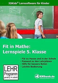 KHSweb.de Fit in Mathe: Lernspiele 5. Klasse (DE) (Win)