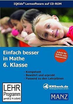KHSweb.de Fit in Mathe: Lernprogramm 6. Klasse (DE) (Win)