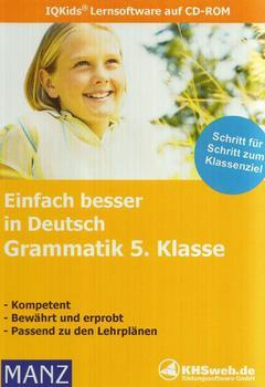 KHSweb.de Einfach besser in Deutsch: Grammatik 5. Klasse (DE) (Win)