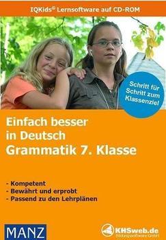 KHSweb.de Einfach besser in Deutsch: Grammatik 7. Klasse (DE) (Win)