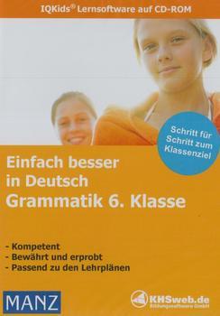 KHSweb.de Einfach besser in Deutsch: Grammatik 6. Klasse (DE) (Win)