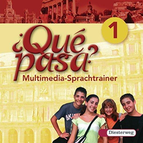 Diesterweg Qué pasa 1 Multimedia-Sprachtrainer