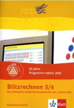 Klett Verlag Blitzrechnen 3/4 - Kopfrechnen (DE) (Win/Mac)