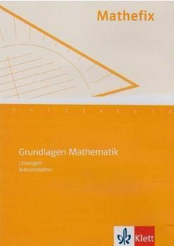 Klett Verlag Mathefix Grundlagen Mathematik Lehrer-CD (DE)