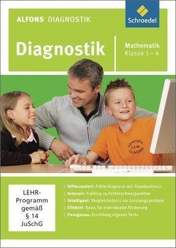 Schroedel Alfons Lernwelt Diagnostik Mathematik 1-4 Ausgabe 2008 (DE) (Win/Mac)