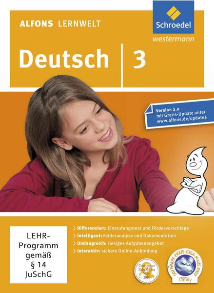 Schroedel Alfons Lernwelt: Deutsch Ausgabe 3 2009