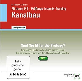 Verlag Handwerk und Technik Fit durch PIT - Prüfungs-Intensiv-Training Kanalbau (DE) (Win)