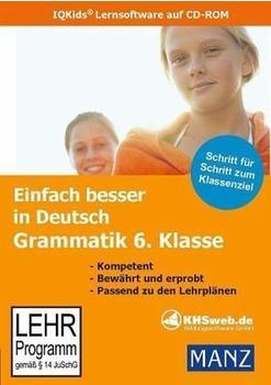 KHSweb.de Einfach besser in Deutsch: Grammatik 6. Klasse (DE) (Win/Mac)