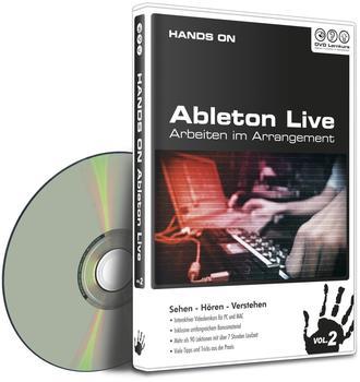 DVD Lernkurs HANDS ON Ableton Live Vol.2 - Arbeiten im Arrangement (DE) (Win/Mac)