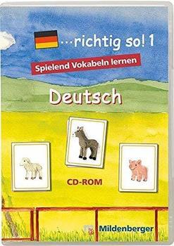 Mildenberger Verlag ...richtig so! 1 - Spielend Vokabeln lernen (DE) (Win)