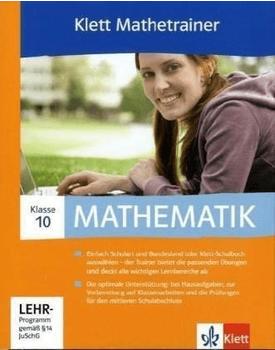 Klett Verlag Mathetrainer 10. Klasse (DE) (Win)