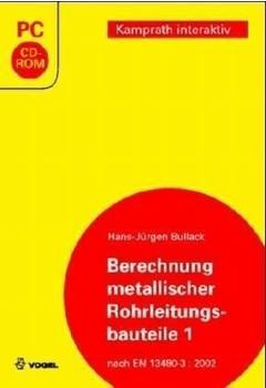 Voglauer Berechnung metallischer Rohrleitungsbauteile 1 (DE) (Win)