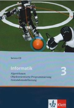 Klett Verlag Informatik 3 Service-CD - Algorithmen, Objektorientierte Programmierung, Zustandsmodellierung (DE) (Win)
