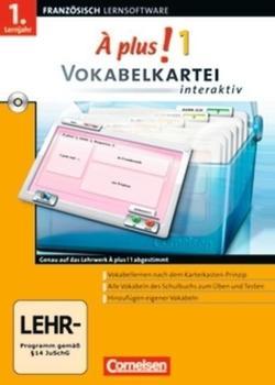 Cornelsen À plus! 1 Vokabelkartei interaktiv (DE) (Win)