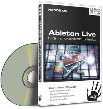 DVD Lernkurs HANDS ON Ableton Live Vol. 3 (DE) (Win/Mac)