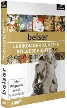 USM Belser Lexikon der Kunst- und Stilgeschichte 3.0 (DE) (Win)