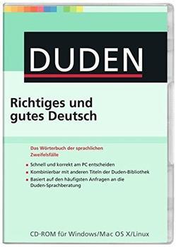 Duden Richtiges und gutes Deutsch (DE) (Mac)