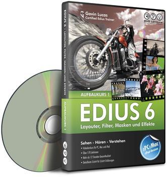 DVD Lernkurs Edius 6 - Aufbaukurs Teil1 (DE) (Win)