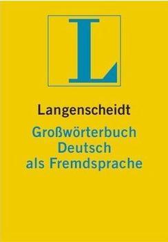 Langenscheidt Großwörterbuch Deutsch als Fremdsprache (Download)