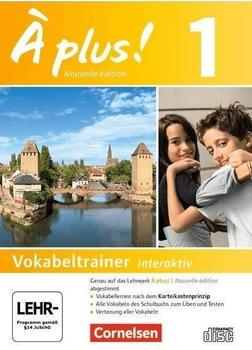 Cornelsen À plus! Vokabelkartei interaktiv
