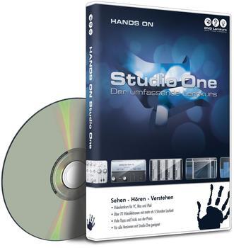 DVD Lernkurs Hands On Studio One V.2, interaktiver Kurs für selbstständiges Lernen (DE) (Win/Mac)