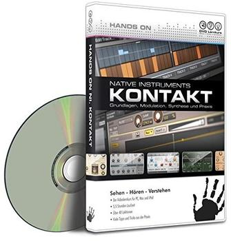 DVD Lernkurs Hands on Kontakt (DE) (Mac)